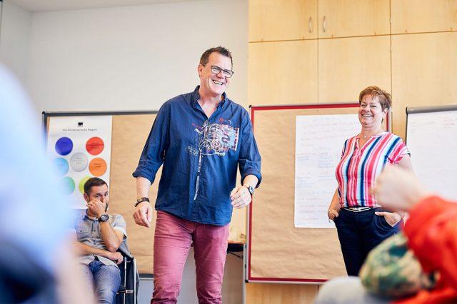 Guido Schulz und Jana Bachert